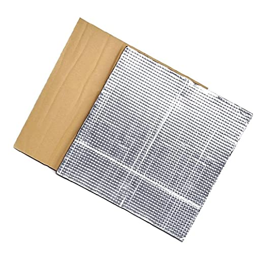 Sanfiyya Plataforma Caliente Cama de Aislamiento térmico semillero Bloque de Aislamiento Estera de la Espuma 3D Impresora térmica con calefacción Cama de Plata Aislamiento de algodón 2pcs