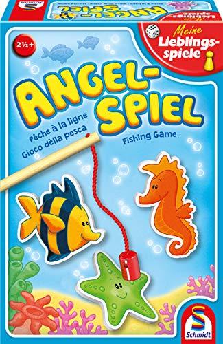 Schmidt Spiele 40595 Angelspiel, Kinderspiel, Meine Lieblingsspiele, bunt