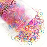 Dreamlover Elastic Hair Bands, Mini Rubber Bands for Toddler Girls, 1500 Pieces