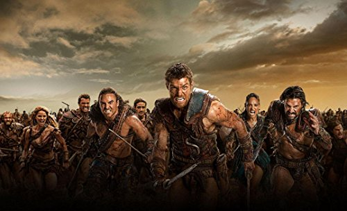 Spartacus-War of The Damned Poster auf Seide/Siebdrucke/Tapete/Wanddekoration 713586308