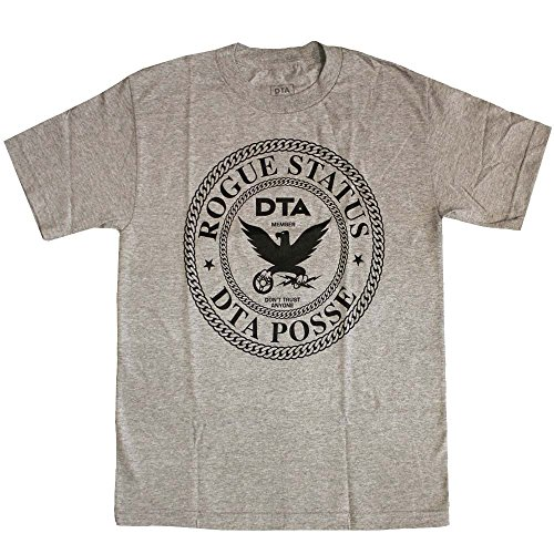 DTA RS Chain Crest T-Shirt Athletic Heather Black[S]