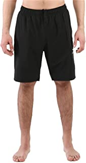 home swee Men's Solid Swim Trunks Quick Dry Board Shorts Swimsuits with 3 Pockets S-XXL