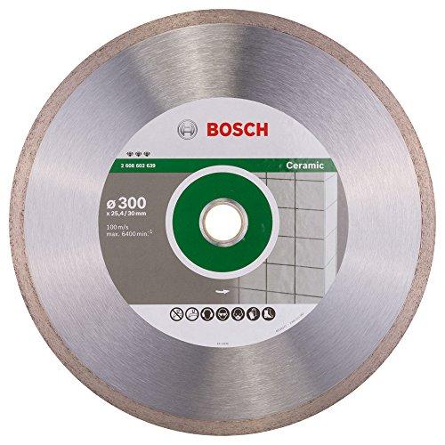 Bosch Professional Diamanttrennscheibe Best für Ceramic, 300 x 30/25,40 x 2,8 x 10 mm, 2608602639