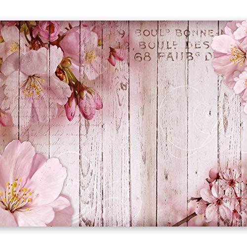 Papier peint intiss/é Fleurs Abstrait Abstraction 350x256 cm XL Trompe l oeil D/éco Mural Tableaux Muraux Photo Lys decomonkey