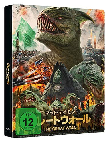 The Great Wall - LIMITED JAPANESE STEELBOOK (4k UHD) [Blu-ray] (exklusiv bei Amazon.de)