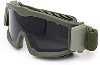 Yaunli Ciclismo Gafas Gafas para Correr al Aire Libre Conducción Gafas de Tiro CS Paintball Gafas tácticas Gafas de Ciclismo Gafas de Sol polarizadas Ciclismo (Color : Verde)