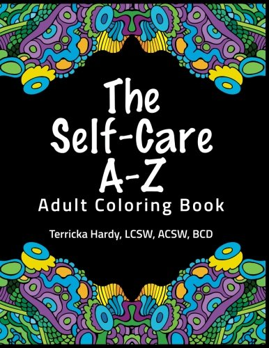 The Self-Care A-Z Adult Coloring Book