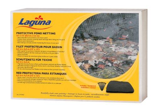 Laguna Filet de Protection pour Étang pour Bassin d'Agrément Noir 4,5 x 3,5 m