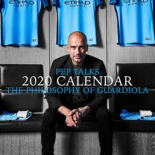 Pep Talk – The Philsophy of Guardiola 2020 Wandkalender, 30,5 x 30,5 cm, quadratisch, mit gratis Poster