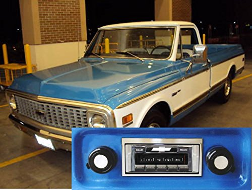 Custom Autosound Stereo compatible with 1967-1972 Chevrolet Truck, USA-630 II High Power 300 watt AM FM Car Stereo/Radio