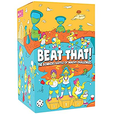 Beat That! - The Bonkers Battle of Wacky Challenges [Family Party Game for Kids & Adults] from That's What She Said Inc.