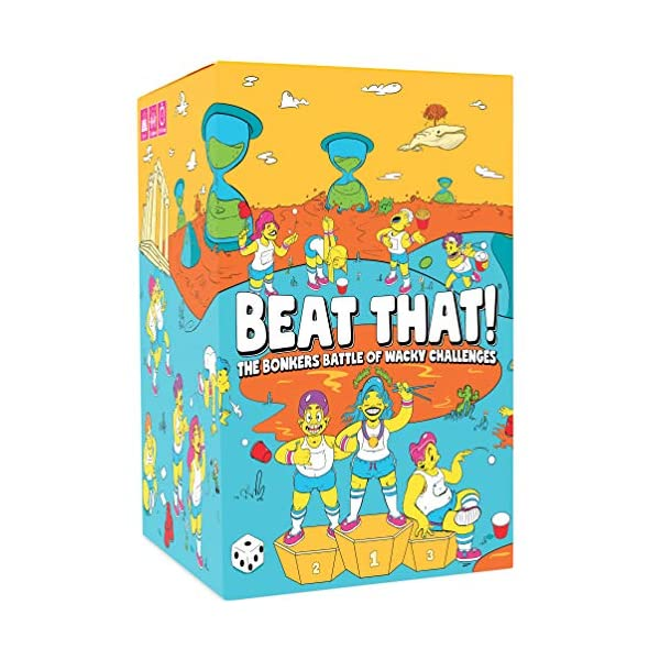 Beat That! – The Bonkers Battle of Wacky Challenges [Family Party Game for...