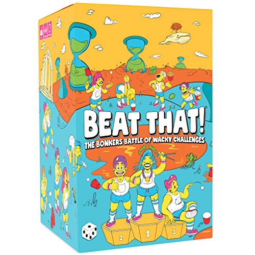 Beat That  The Bonkers Battle of Wacky Challenges Family Party Game for Kids amp Adults