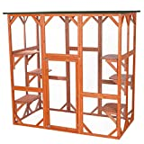 Trixie Pet Products Wooden Outdoor Cat Sanctuary