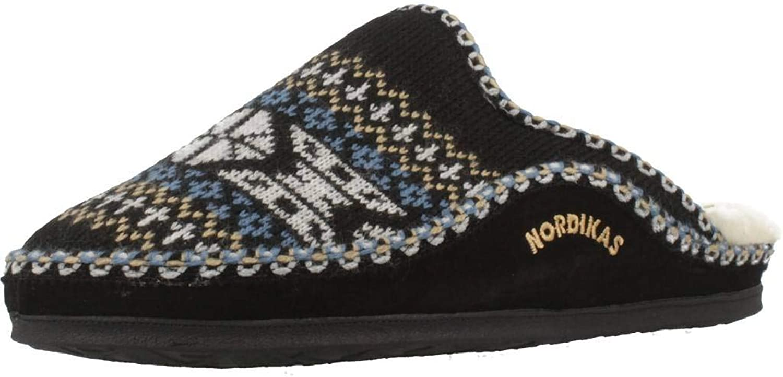 Nordikas Men's Classic Open Back Slippers