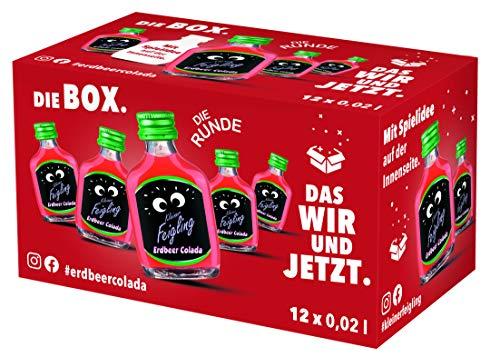 Kleiner Feigling Erdbeer Colada ( 12 x 0,02l ) Marken – Spirituose aus Deutschland