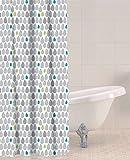 Sabichi Rain Drops PEVA Shower Curtain by Sabichi