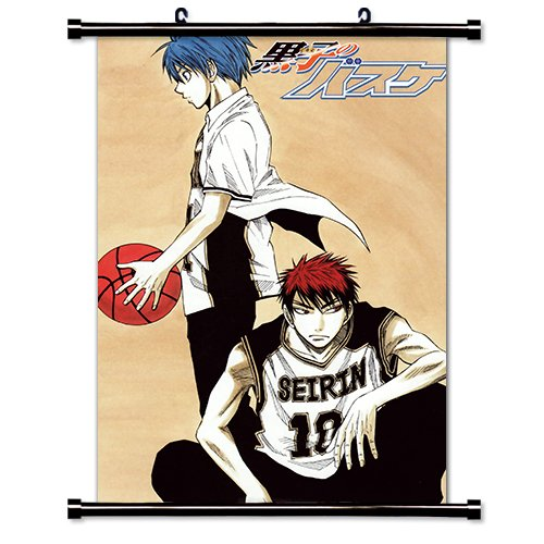 Kuroko No Basket Anime Fabric Wall Scroll Poster (16\