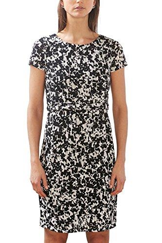 ESPRIT Collection Damen 027EO1E031 Kleid, Schwarz (Black 2 002), 38 (Herstellergröße: M)