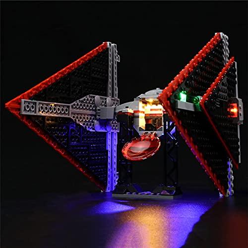 icuanuty Kit de Iluminación LED para Lego 75272, Kit de Luces Compatible con Lego Star Wars Sith Tie Fighter (No Incluye Modelo Lego)