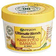 Garnier Ultimate Blends Hair Food Banana 3-in-1 Dry Hair Mask Treatment, 390ml