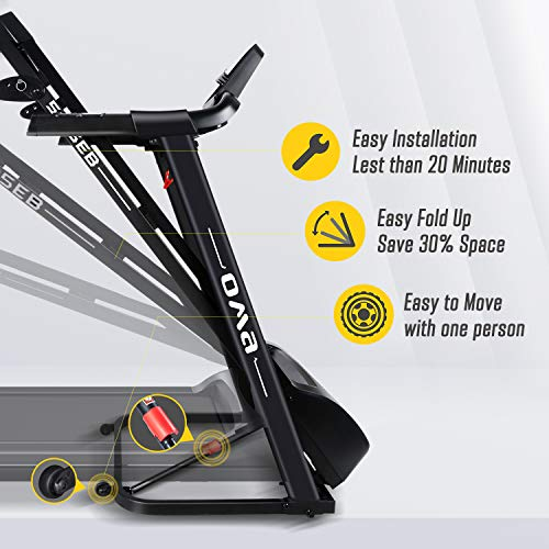 OMA Max 2.25HP Treadmill for Home