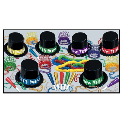 Beistle 88582-50 Midnight Magic Party Favors Assortment for 50 People