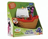 The Backyardigans Exclusive Playset Pirate Tub Time by Fisher-Price