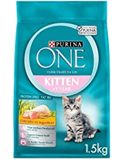Purina One Kitten with Chicken Cat Food 1.5Kg(Pack of 1)