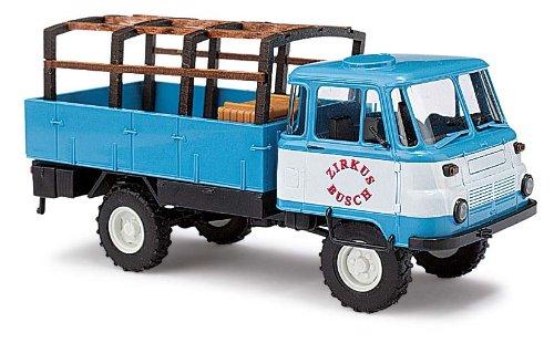 Busch Voitures - BUV50214 - Modélisme - Camion LO 2002 A - Circus Busch - 1973