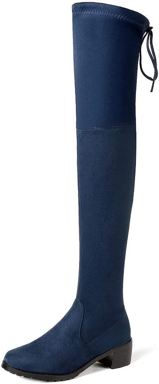 1TO9 MNS03427, Seali con Zeppa Donna, Blu (blu), 35
