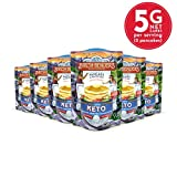 Keto Pancake & Waffle Mix by Birch Benders, Low-Carb, High Protein, Grain-free, Gluten-free, Low Glycemic, Keto-Friendly, Made with Almond, Coconut & Cassava Flour, 6 Pack (10oz each)