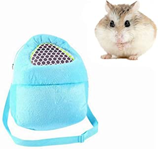 Yosoo 1 PCS Portable African Hedgehog Hamster Breathable Pet Dog Carrier Bags Handbags Puppy Cat Travel Backpack (S, White...