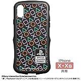 """プレイステーション TPUバンパー iPhoneケース [X・Xs共用] """"PlayStation""""Shapes"""