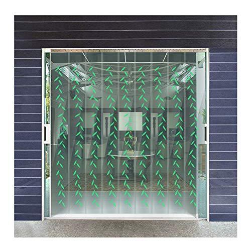 GDMING Warmtewerend gordijn van pvc, met 25% overlapping, voor deuropening, balkon, glazen schuifdeur, op maat te snijden, kinderdagverblijven, 19