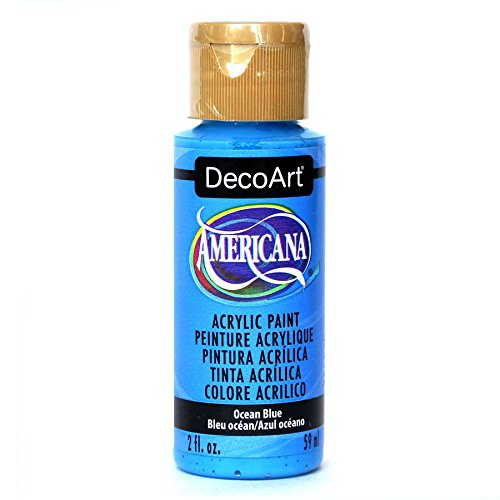 Deco Art Americana Peinture Acrylique Multi-usages, Bleu océ an