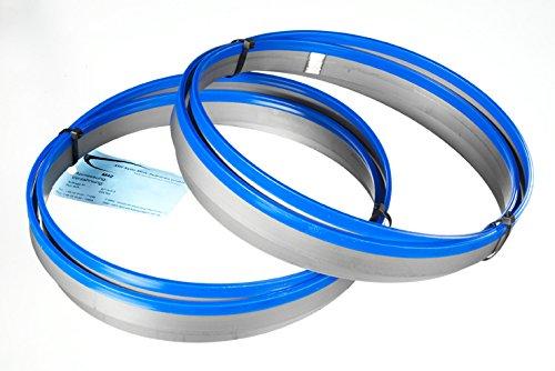 2er SET Bandsägeblatt Bi-Metall M 42 Abmessung 2700x27x0,90 mm 10/14 ZpZ z.B. für FMB, Behringer Sägeband
