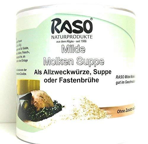 Diät Suppe - Milde Molkensuppe ohne Fett (1x 300g Dose) - ohne Hefeextrakt, ohne Geschmacksverstärker - FASTENSUPPE
