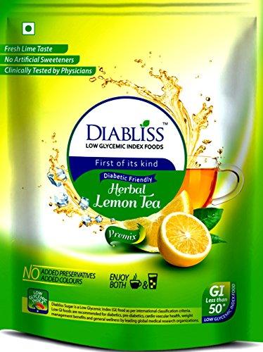 DiaBliss Herbal Diabetic Friendly Lemon Tea 500g – Low Glycemic Food