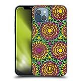 Head Case Designs Floreale Africano Stampe Etniche Multiculturali Cover Dura per Parte Posteriore Compatibile con Apple iPhone 13