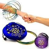 Toroidz ® Flow Ring + Samtbeutel - Wunderbares Magisches Spielzeug - 3D ARM Slinky - Wissenschaft,...