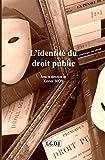L'identité du droit public