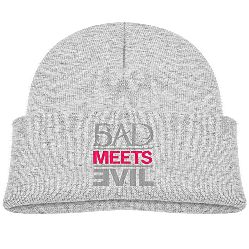 Winter Beanie Hat Eminem Bad Meets Evil Kids Baby Knitted Hat