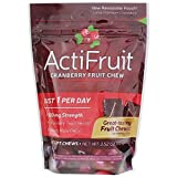 Enzymatic Therapy Actifruit With Cran-Max - 20 soft chews, 3 Pack