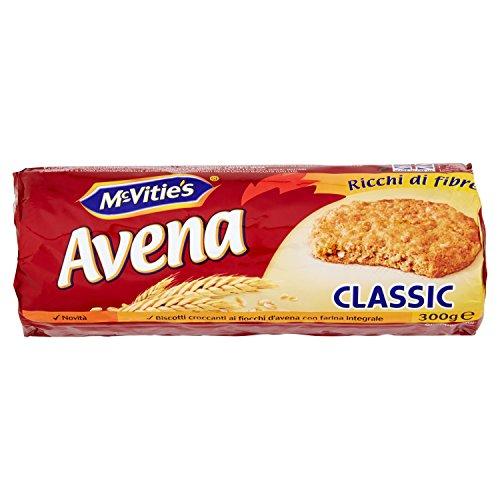 Mc Vitie'S Avena Classic Biscotti Integrali - 300 gr - [confezione da 6]