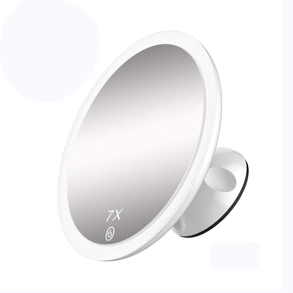 TOUCHBeauty Portable 7X Lighted Vanity Rechargea Mirror Ranking TOP7 2021 model 6.7 Inch