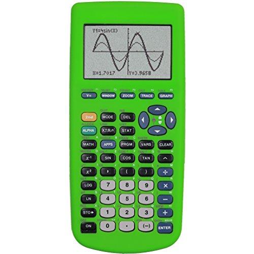 Guerrilla Silicone Case for Texas Instruments TI-83 Plus Graphing Calculator, Green Photo #4