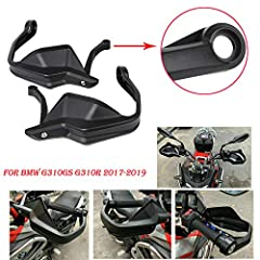 ★ Condition: 100% Brand New ★ Color: Black ★ Material: ABS Plastic + Steel Mount,High quality material, not easy to break ★ Quantity: 1 pair (left & right) ★ Fitment:For BMW G310R G310GS 2017 2018 2019