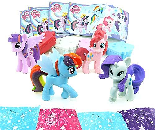 Kinder Überraschung - Set sorprese My Little Pony dell'uovo Maxi, 4 pony