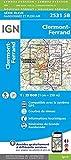 Clermont-Ferrand (2017) (Top 25 & série bleue - Carte de randonnée)